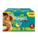 150 Couches Pampers Baby Dry taille 4