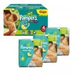 240 Couches Pampers Baby Dry taille 4