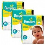 189 Couches Pampers New Baby Premium Protection taille 4+