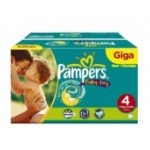 345 Couches Pampers Baby Dry taille 4
