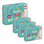 297 Couches Pampers Baby Dry Pants taille 4+