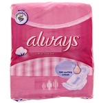 Pack 8 Serviettes hygiéniques Always Ultra Thin Coton sur layota