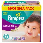 360 Couches Pampers Active Fit taille 6