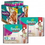 102 Couches Pampers Active Fit Pants taille 5