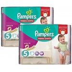 119 Couches Pampers Active Fit Pants taille 3 taille 5