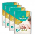 120 Couches Pampers Premium Care taille 5
