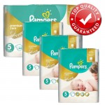 160 Couches Pampers Premium Care taille 5