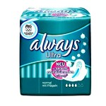 Pack 16 Serviettes hygiéniques d'Always Ultra sur layota