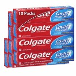 Pack 10 Dentifrices Colgate Cavity Protection sur auchan
