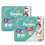 144 Couches Pampers Baby Dry Pants taille 5+