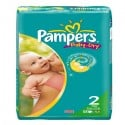 58 Couches Pampers Baby Dry taille 2