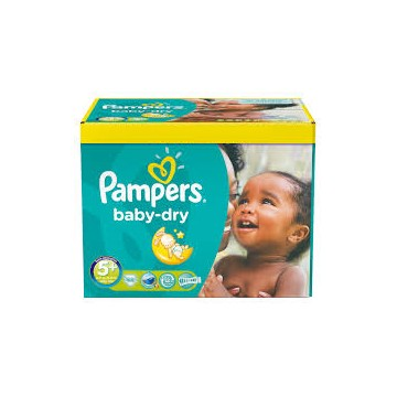 245 Couches Pampers Pampers Baby Dry Taille 5 à Petit Prix Sur Cou Ches