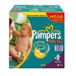 Pack de 328 Couches Pampers Baby Dry sur layota