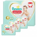 342 Couches Pampers Premium Protection Pants taille 4