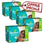 230 Couches Pampers Baby Dry taille 5