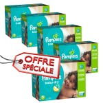 345 Couches Pampers Baby Dry taille 5