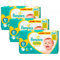 100 Couches Pampers New Baby Premium Protection taille 5+