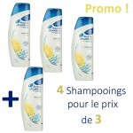 Maxi Pack 4 Shampooings d'Head & Shoulders Antipelliculaire Citrus Fresh sur auchan