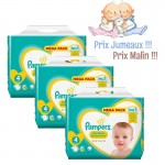 864 Couches Pampers New Baby Premium Protection taille 4