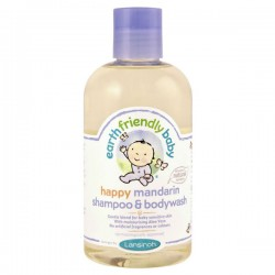 Gel douche EFB - Earth Friendly Baby Bio Mandarine