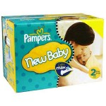 297 Couches Pampers Baby Dry taille 2