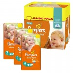 390 Couches Pampers Sleep & Play taille 3