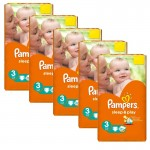546 Couches Pampers Sleep & Play taille 3