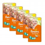 624 Couches Pampers Sleep & Play taille 3
