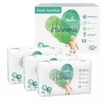 56 Couches Pampers Harmonie taille 4