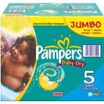 Pack économique 360 Couches Pampers Baby Dry sur auchan