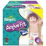 76 Couches Pampers Active Fit taille 4+