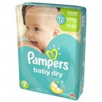 Pack 42 Couches Pampers Baby Dry sur auchan