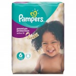 Pack de 64 Couches Pampers Active Fit sur auchan