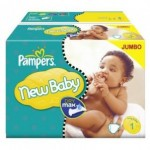 648 Couches Pampers New Baby Premium Protection taille 1
