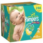 792 Couches Pampers Baby Dry taille 2