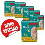 594 Couches Pampers New Baby Dry taille 2