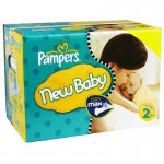 660 Couches Pampers New Baby Dry taille 2