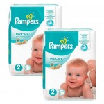 540 Couches Pampers ProCare Premium protection taille 2