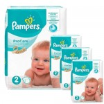 612 Couches Pampers ProCare Premium protection taille 2