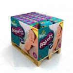 288 Couches Pampers Active Fit Pants taille 4