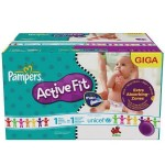 352 Couches Pampers Active Fit Pants taille 4