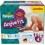 416 Couches Pampers Active Fit Pants taille 4