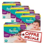 512 Couches Pampers Active Fit Pants taille 4