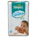 Pack de 60 Couches Pampers New Baby Sensitive sur amazon
