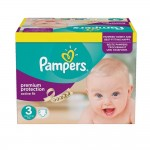 123 Couches Pampers Active Fit taille 3