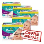 Giga Pack 560 Couches Pampers d'Active Fit sur layota