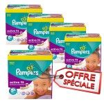 870 Couches Pampers Active Fit taille 5+