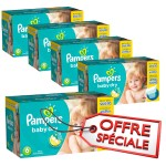 627 Couches Pampers Baby Dry taille 6