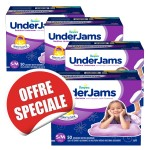 200 Couches Pampers Underjams - pour Filles taille S/M