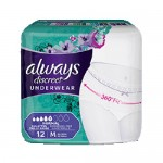 Pack 12 culottes incontinence ALWAYS DISCREET Normal